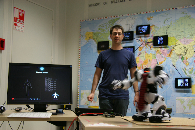 Graphical Interface of Robot Kinect