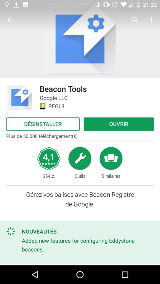 Generate Nearby Notifications using Beacon Simulator · Alea