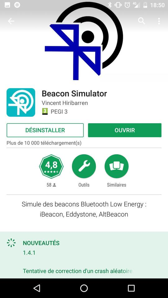 Generate Nearby Notifications using Beacon Simulator · Alea Workshop